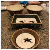 Rodeo Serving Bowls