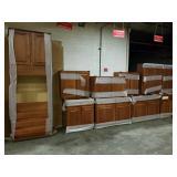 Tourine Cafe Birch Kitchen Cabinets