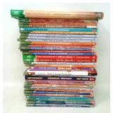 30+ books, mostly Magic Tree House.