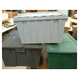 3 Totes with Lids