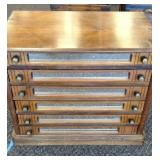 Antique spool cabinet. 6 drawers,