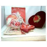 Vintage Valentines Hearts , Decorations,
