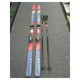 Set of Snow Ski