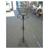 Metal Flower Pot Stand (heavy) approximately 53in