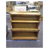 Wood Shelf Stand  approximately 36in wide and