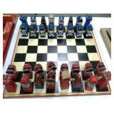 American Revolution Wooden Chess set