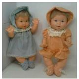 2 Ideal Toy dolls made in 1973.