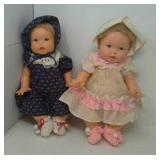 2 Ideal Toy dolls made in 1973 & 1974.