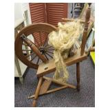 Vintage Spinning Wheel (Some Assembly Required)