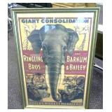 Ringling Bros and Barnum & Bailey Framed Poster