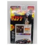 Kiss Gene Simmons collectible car and card