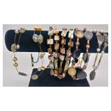 Costume jewelry 4 necklaces