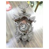 Black Forest cuckoo clock. Made in Germany.