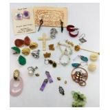 Earrings and other charms