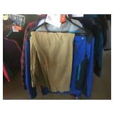 2 pack of jackets size large and a pair of pants