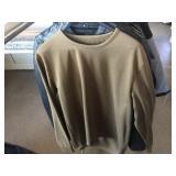 Two medium jackets one base layer shirt size