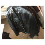 Medium jacket, large jacket and medium base layer