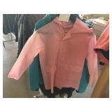 Girls rain suit size small, large ladies jacket