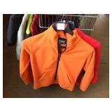 Three youth jackets size 8