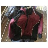 Snow suit jacket and pants size 5 and size 8