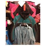 Three ladies jackets size small, medium and large