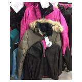 Three ladies jackets 2 size large and one size