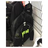 Three jackets size large, XL and 3XL