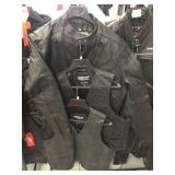 Leather jacket size 46 and two leather vest size