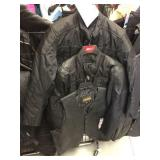 Two jackets and one leather vest size XL