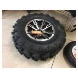 ATV tire & rim. AT 26x10.09-12