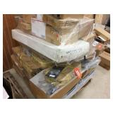 Pallet of atv cabin cover & assorted parts
