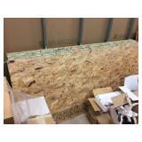 (16) 4x7 sheets of osb paneling