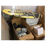 Pallet of boat props & life preservers