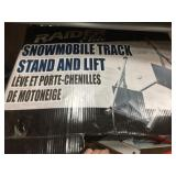 Snowmobile track stands & lift