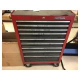 Craftsman rolling tool box with contents &
