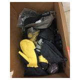 Box of gloves & mittens