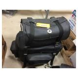 Leather touring bags
