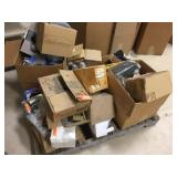 Contents on pallet