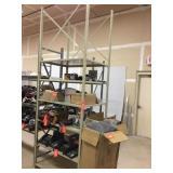 Lyon 8000 high strength metal shelving.
