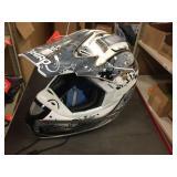 Shiro moto cross helmet size M