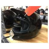 Epic moto cross helmet with goggles size XL