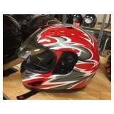 Raider full face helmet size M
