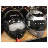 2 Raider FF helmets size M & L