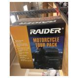 Raider motorcycle tour pack