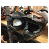 Fulmer & Raider moto cross helmets size M & youth