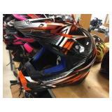 Raider moto cross helmet size L