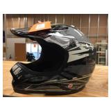 Lunatic moto cross helmet size M