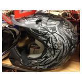 Raider moto cross helmet size M