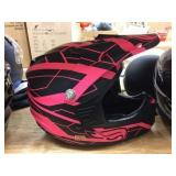 Fulmer moto cross helmet size youth small