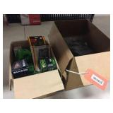 Box of gaskets & assorted filters